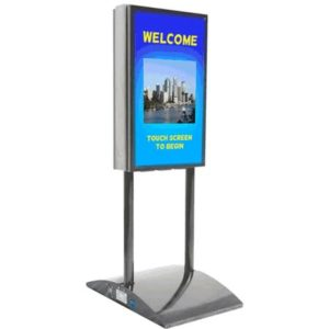INDOOR LCD DISPLAYS, KIOSKS & TOUCHSCREEN BOLLARDS