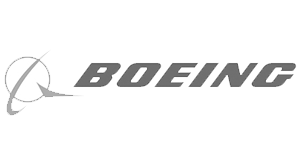 Boeing Logo Grayscale