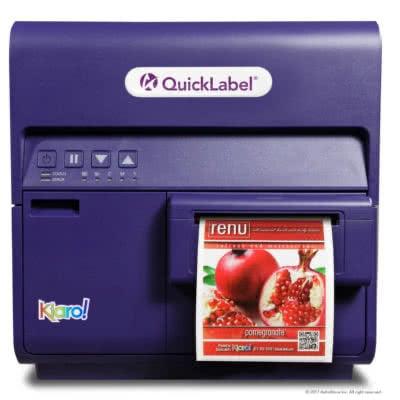 Ink Jet Colour Label Printer