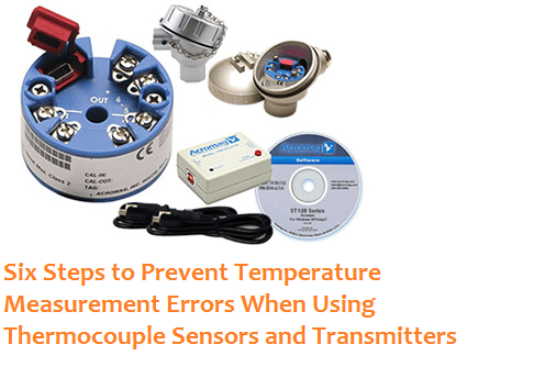 6 Steps to prevent Temperature Measurement Errors