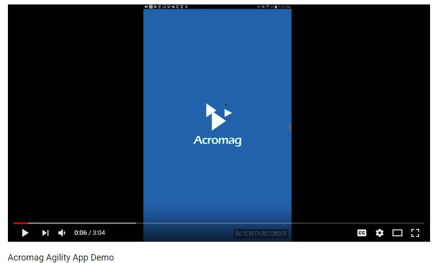 Acromag Agility Config Tool App Demo Video