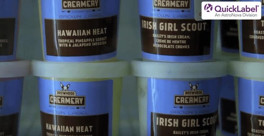 Frozen Food Labels