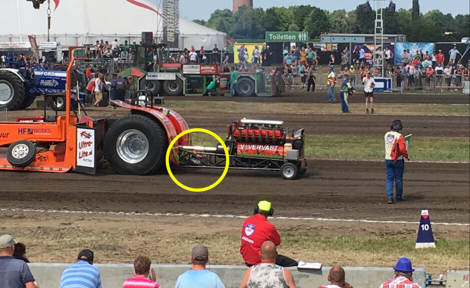 Measurement of Tractor Pulling Sport