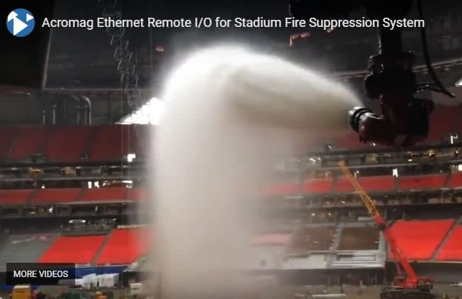 New Stadium Fire Suppression Control System