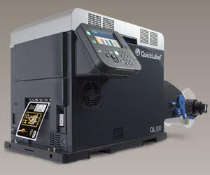 4 Colour and White Toner Based Label Printer