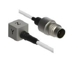 IEPE Miniature Triaxial Accelerometer